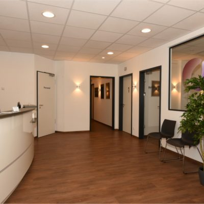 Eingangsbereich Praxis Urologie Nguyen